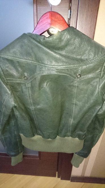"""Куртка Guess S-MКуртка """"Guess"""" original КожаЦвет темно зелёный. есть"""
