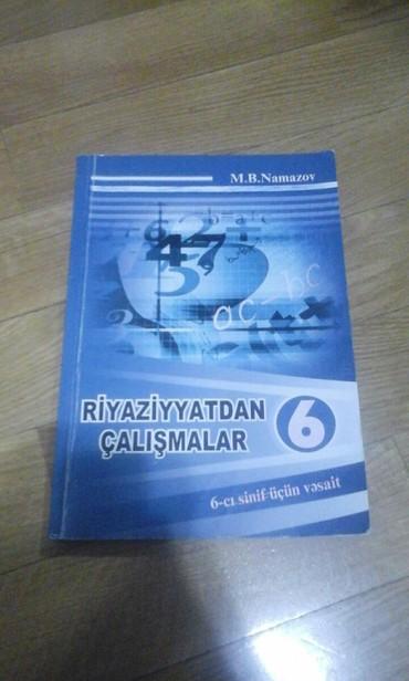 namazov - Azərbaycan: Riyaziyyat 6 ci sinif namazov kitabi