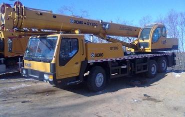 Услуги автокрана от строительной в Бишкек
