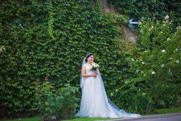 платье в Кыргызстан: Сдаю напрокат свое свадебное платье Очень нежное, легкое, невесомое пл