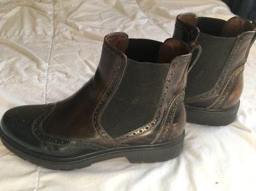 Italijanske kožne cipele Nero Giardini, obuvene 10 tak puta. Koza - Uzice