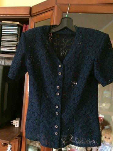 Cipkana košulja, šivena po meri , elegantna, odgovara veličini 38, - Velika Plana