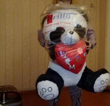 bu saatlarda b - Azərbaycan: Satılır. oyuncaq panda.hecmi boyukdur. yep yenidi . deyerinnen ucuz