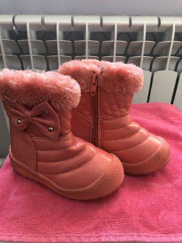 Новые сапоги на девочку,размер 23(Бишкек)