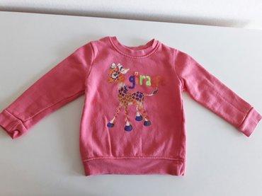 Za decu | Sremska Mitrovica: Puniji duks 92 za devojcice pink, kao nov