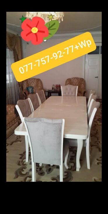 Ev və bağ - Azərbaycan: Masa ve oturacaqlar.Her zovqe uygun sekilde