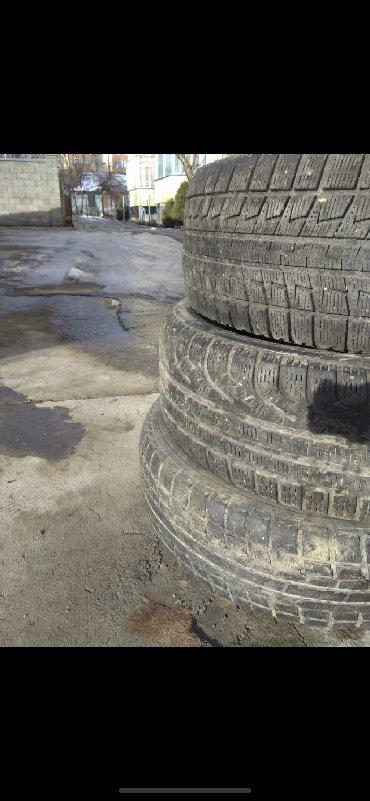 шины 205 55 r16 в Кыргызстан: Продаю резину --сверху вниз на фото--- R16 205/55 Бриджстоун