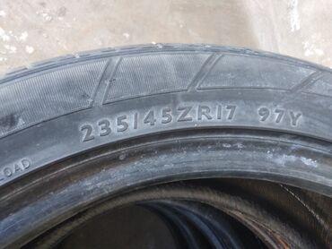 Шины и диски в Бостери: Шины (235/45/R17) в хорошем состоянии комплект 4 пар общая стоимость 5