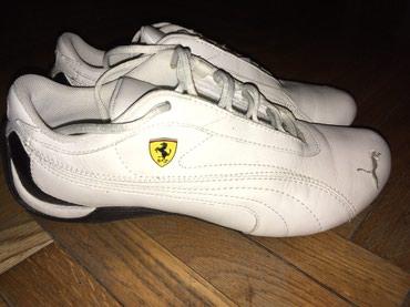 Puma Ferrari ženske, kožne, jednom obuvene, broj 38. Bez oštećenja - Belgrade