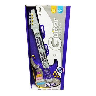 Гитара детская музыкальная.Увлечение музыкой - одно из лучших занятий