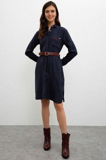 В наличии стильные платья от USPolo Assn,оригинал 100%,ткань