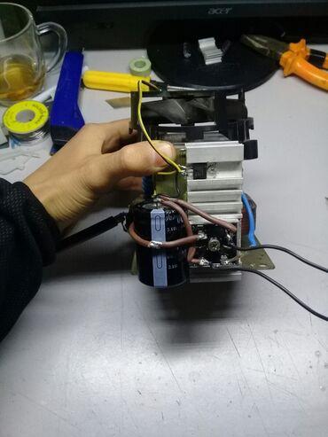 Трансформатор из микроволновки переделанный под блок питание  Выходное