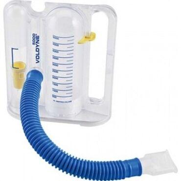 Тренажёр-спирометр дыхательный волюметрический, объем 2500-5000 мл