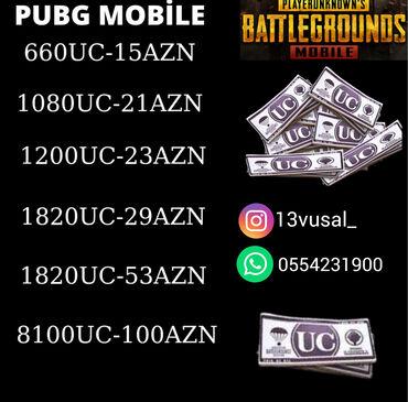flaşkart qiymətləri - Azərbaycan: PUBG Mobile UC