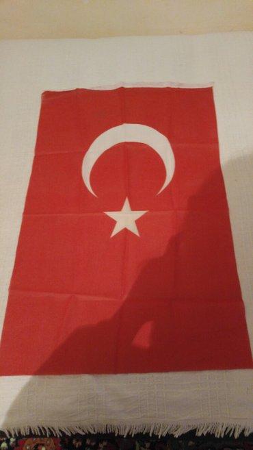 Bakı şəhərində Təzə bayraq. Ölçüsü 48/78.