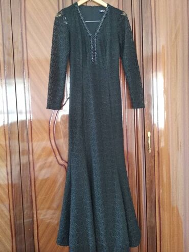 Личные вещи - Дмитриевка: Платье турецкое состояние идеальное 36 +6размер Вечерний нарядОчень