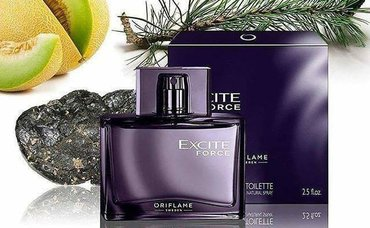Reveal your masculine power with Excite Force, an irresistibly