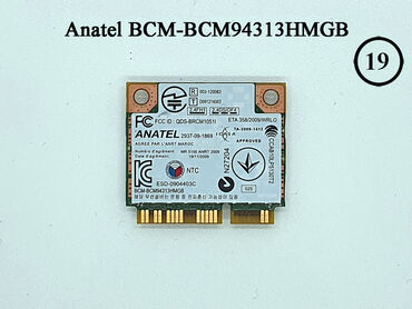 Anatel BCM-BCM94313HMGBWiFi plata noutbuk üçünBrand : AnatelModel
