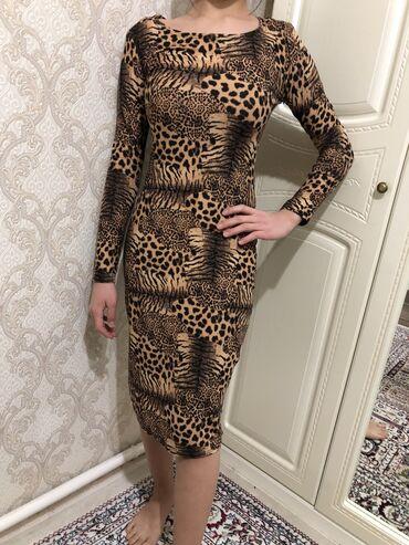 вязаное платье в пол в Кыргызстан: Тёплое платье 500 сом.Размер s-m.Состояние Можно забрать с района