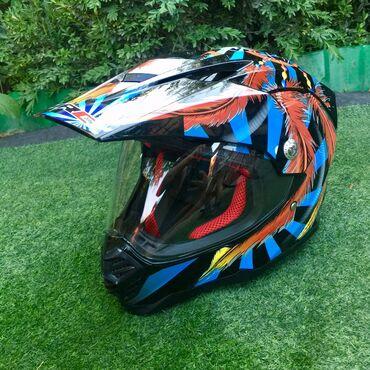 Шлем-мотоциклетный. Размер 58-60. Новый