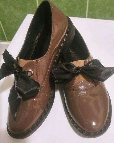 Брендовые туфли из натуральной плотной кожи (приобретены в Турции