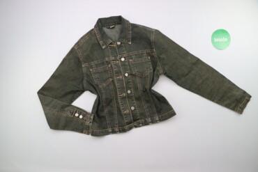 Детский мир - Украина: Підліткова джинсова куртка Isi, p. M    Довжина: 50 см Ширина плечей