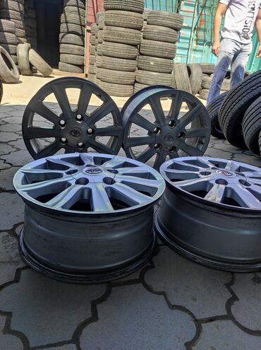 купить диски для машины в Кыргызстан: Диски TOYOTAДиаметр R18Сверловка 5*150Ширина 8.0jВылет et60Без сварки