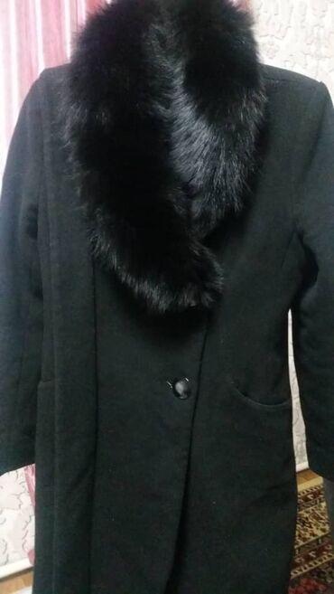 Пальто женская зимняя, шерсть80%Кашемир 8%полиамид12% мех