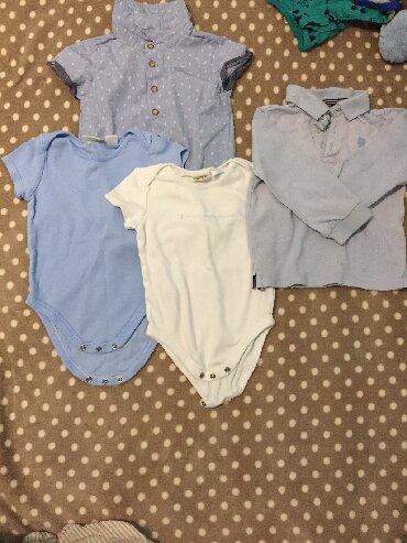 Jedna-majca - Srbija: Tri bodica i jedna majica dugih rukava 12-18 meseci