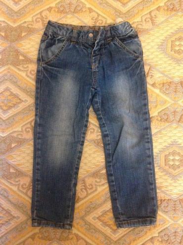 теплые береты в Азербайджан: Теплые детские джинсы брюки на флисе(теплый навес, подклад) на