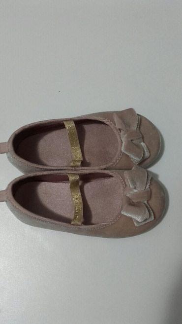Dečije Cipele i Čizme   Kragujevac: Baletanke prljavo roze somotske elegantne hm vel 23.Obuvene samo