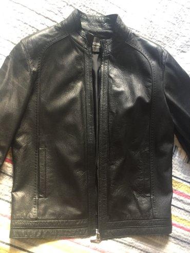 Натуральная кожаная куртка р48 мужская в Бишкек