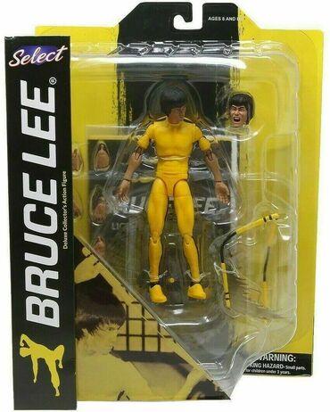 Majica bruce lee - Srbija: Bruce Lee Yellow Jumpsuit Action FigureVisina 17 cmNovo i