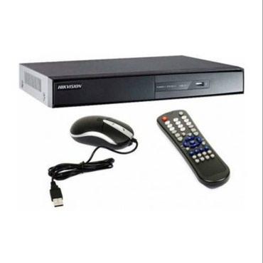 Bakı şəhərində HIKVISION DVR DS-7208HWI-SH Analoq 8-Kanal, 1 Audio. HDD 500GB Yaddash