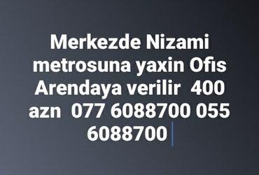 Bakı şəhərində Merkezde Nizami metrosuna yaxin  5 mertebe terefde  ofis ucun  obyek