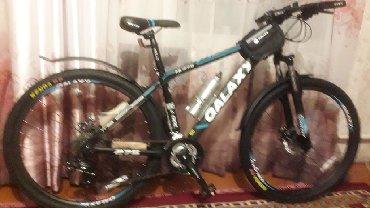 горный велосипед без скоростей в Кыргызстан: Новый фирменный велосипед GALAXY Оригинал  24 скоростей 17 рама 27.5 д