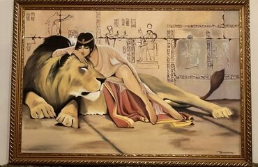 Клеопатра -продаю большую картину для декора.цена