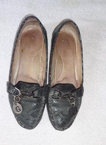 Кожаные туфли 39 размер с гелевой подошвой в отличном состоянии