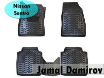 Bakı şəhərində Nissan sentra üçün poliuretan ayaqaltılar. Полиуретановые коврики для