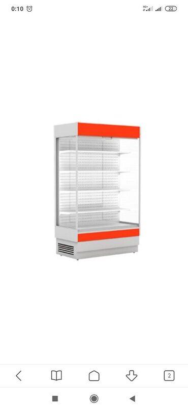 stolovye-pribory-bez-nozha в Кыргызстан: Новый Холодильник-витрина Белый холодильник