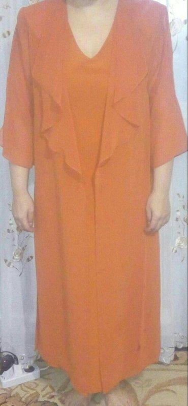 Новое платье 2йка, с накидкой! р46 в Бишкек