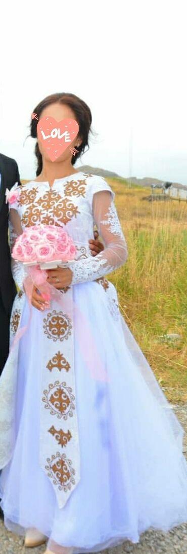 Платье на кыз-узатуу, я сама покупал за 5000с продаю срочно за 2000с