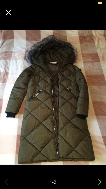 Зимняя куртка 44 размер, обмен