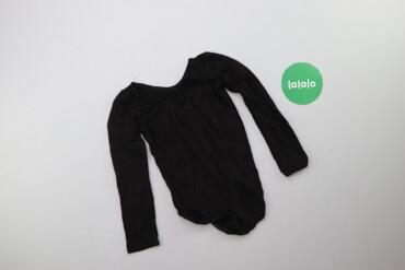 Жіноче боді чорного кольору   Довжина: 42 см Ширина плечей: 21 см Довж