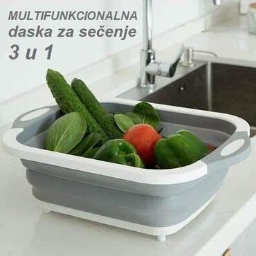 Pretvarac - Srbija: HIT HIT 3 u 1 Daska za sečenje, posuda za pranje i serviranjeU samo 2