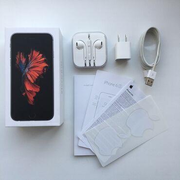 Apple Iphone - Бишкек: Б/У iPhone 6s 32 ГБ Серый (Space Gray)