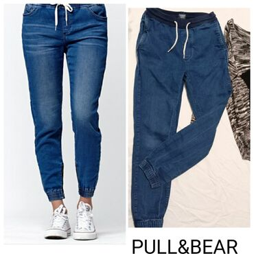 Pull & Bear pantalone /trenerka MOdlicne sa ouno elastina,izuzetno