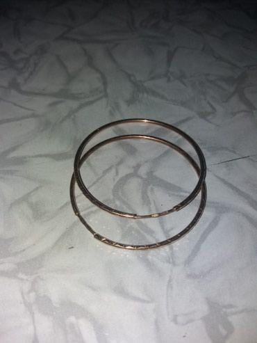 Серьги золотые,585 проба,Россия,вес 2,21 гр.,диаметр 4 см.. в Бишкек