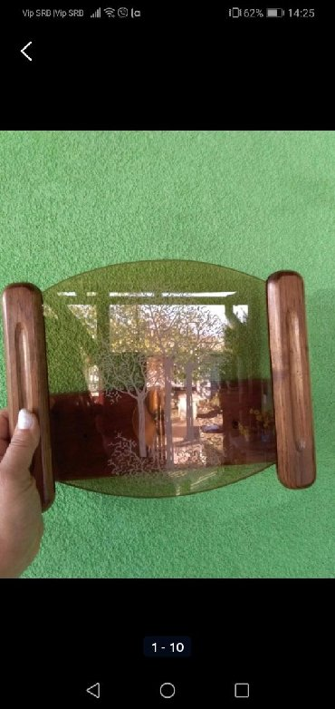 Rasveta | Sombor: Ukrasna lampa drvo staklo