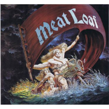 MEAT LOAF Dead Ringer (Epic ‎– EPC 83645) Europe 1981 LP